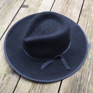 Wilfred Auxiliary Wool Western Hat Black M/L